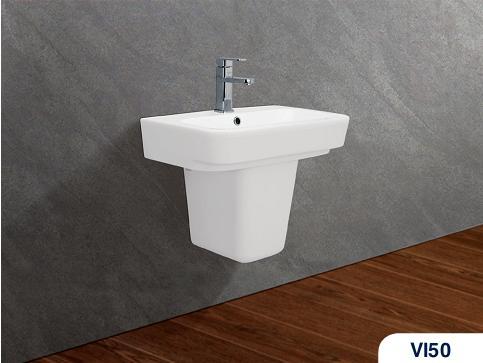 Chậu rửa treo tường viglacera VI50