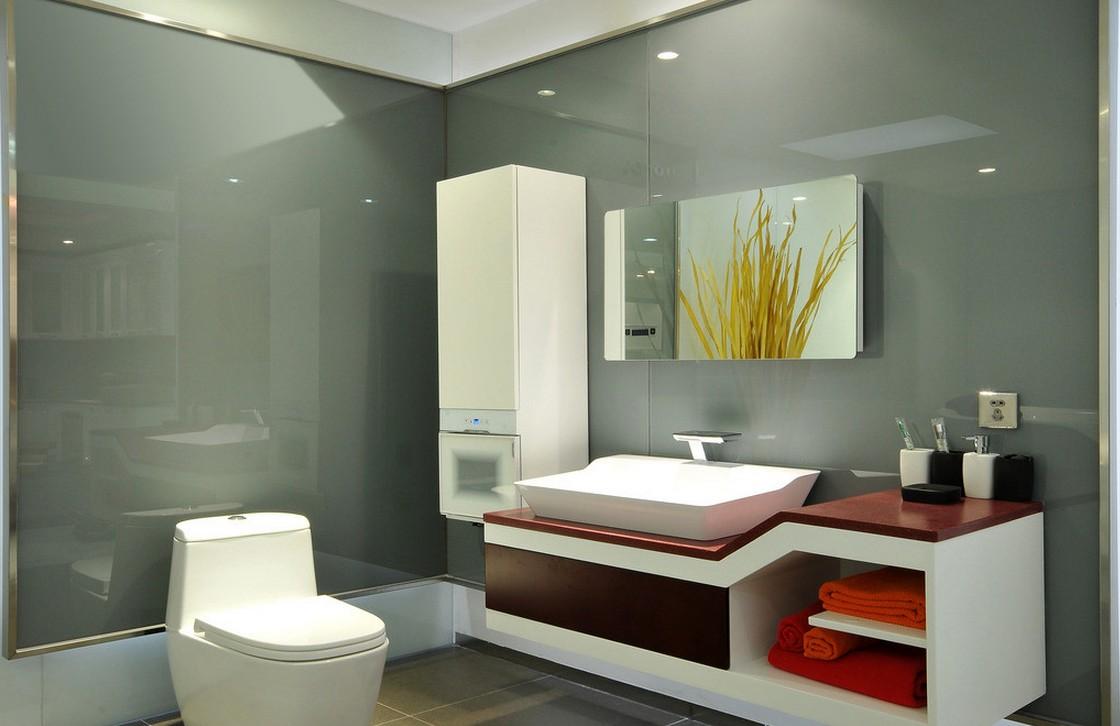 Phòng tắm hiện đại của những sản phẩm bồn cầu viglacera