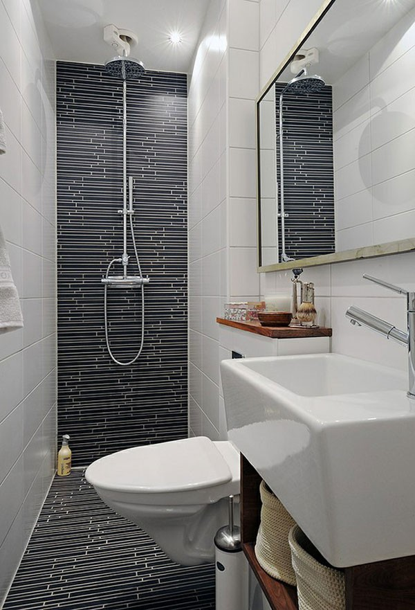 Cách lựa chọn thiết bị vệ sinh cho phòng tắm có diện tích nhỏ
