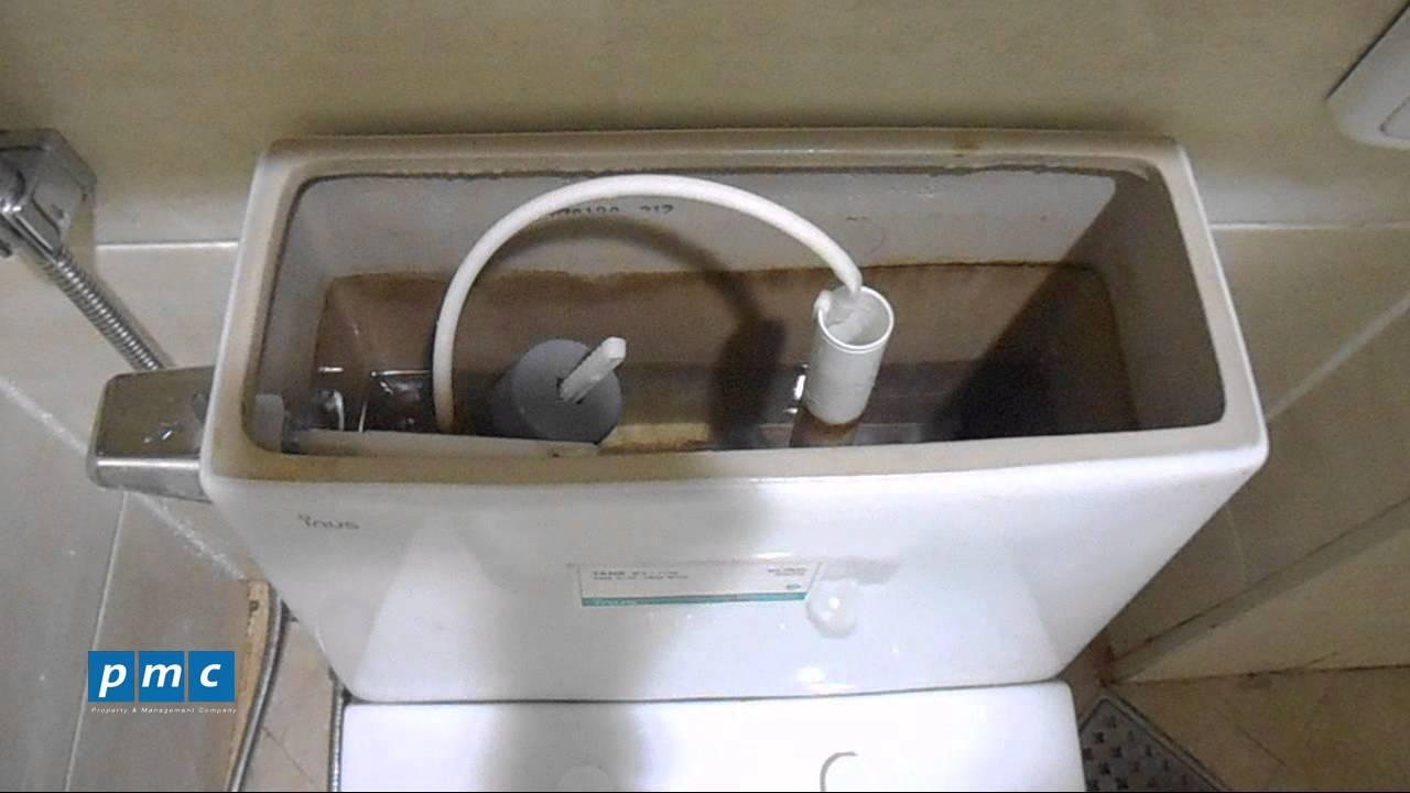 Một sô lỗi thường gặp ở van xả nước của bồn cầu và cách khắc phục
