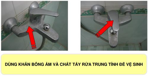 Cách lắp đặt và vệ sinh sen vòi Viglacera đúng cách
